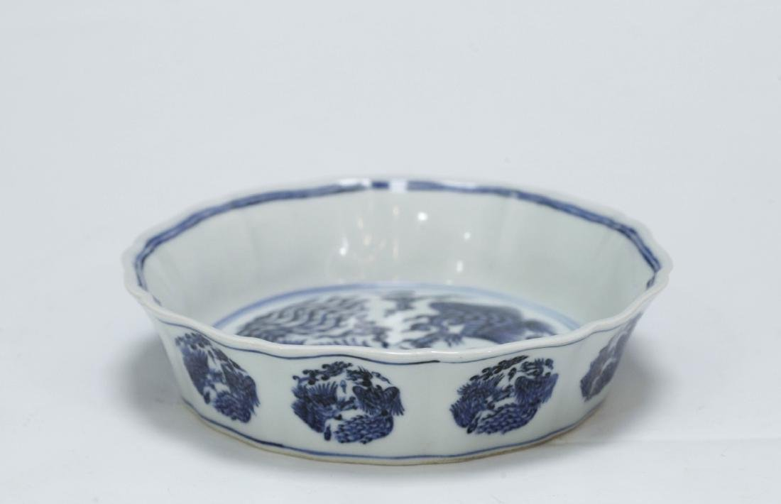 Chinese Blue/White Porcelain Bowl - 3