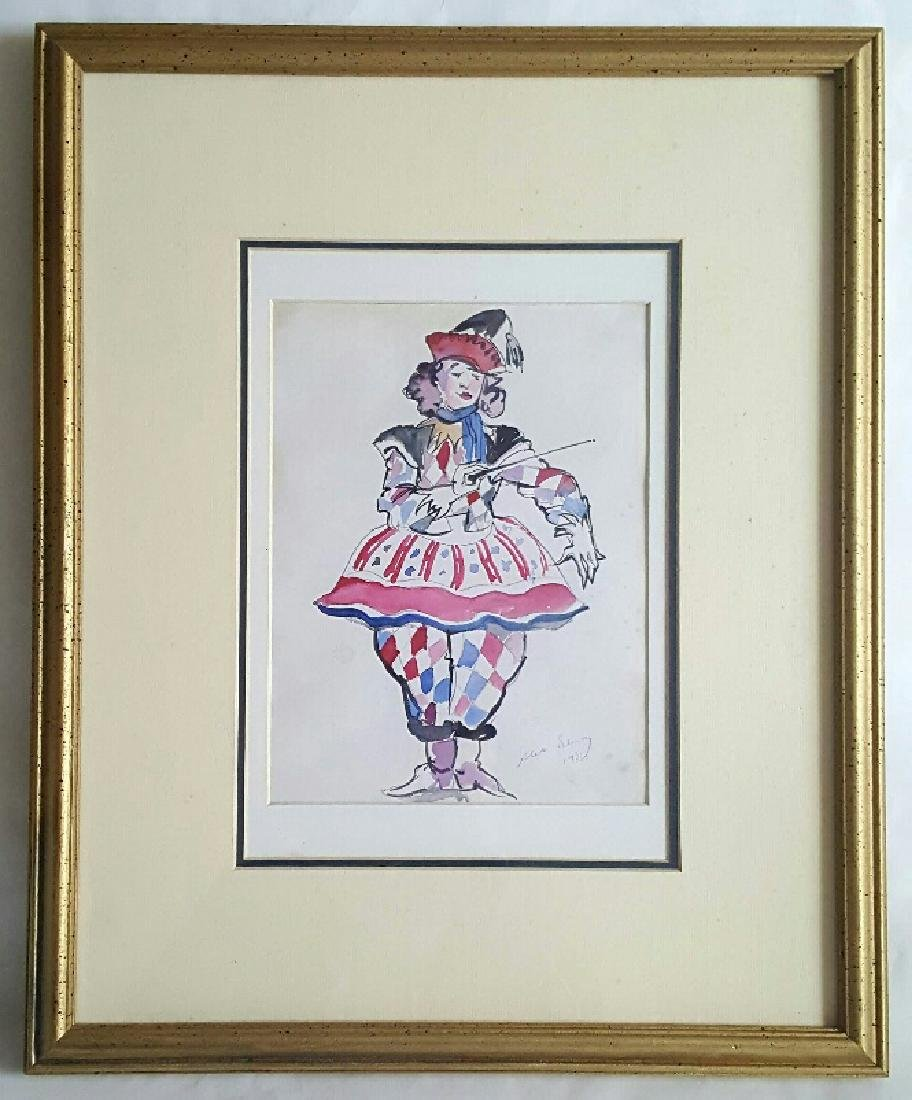 Alexandre Nikolayevich Benois - Watercolor