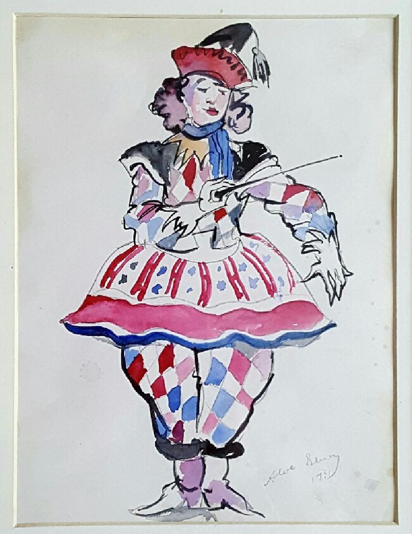 Alexandre Nikolayevich Benois - Watercolor - 2