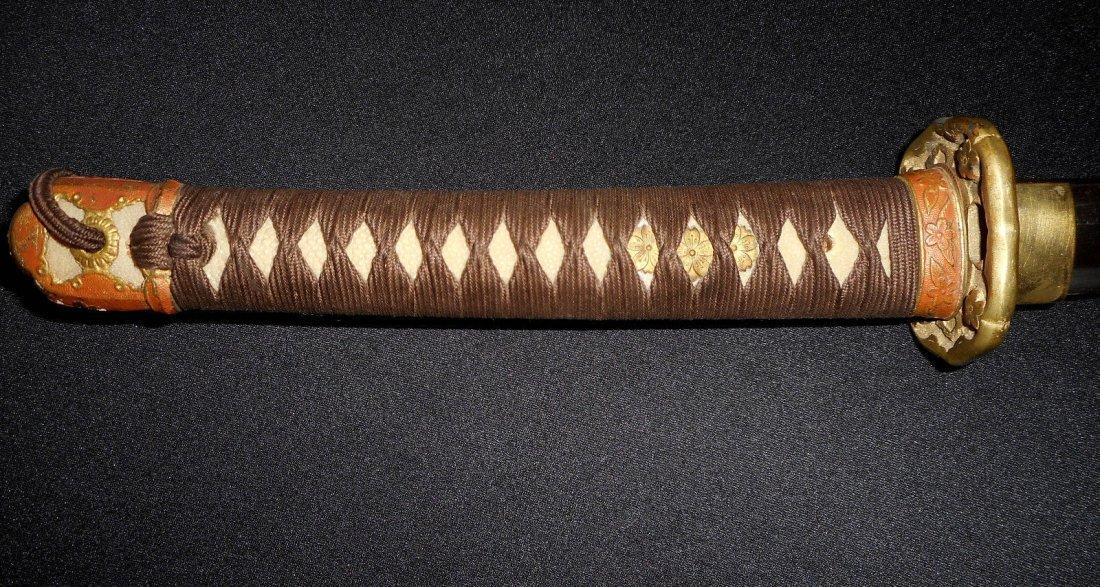 Japanese WW II Army Officer Samurai Katana Sword - 5