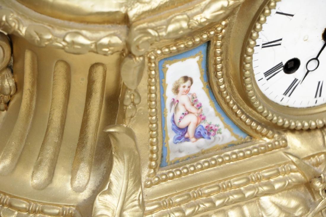 Set of European Bronze Clock - 8