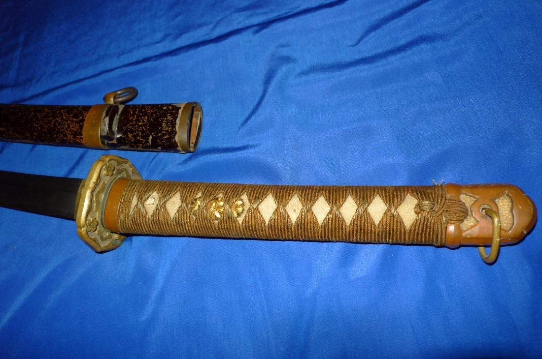 WW2 Japanese Officers Sword Type 98 Shin-Gunto Sig - 2