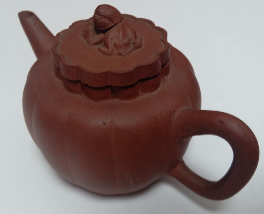 Qing Dynasty Yixing Zisha Teapot, Lion Final - 2