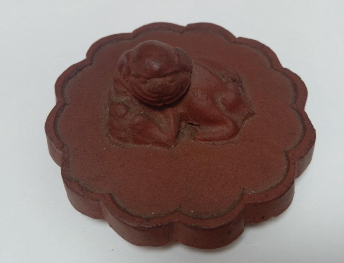 Qing Dynasty Yixing Zisha Teapot, Lion Final - 3