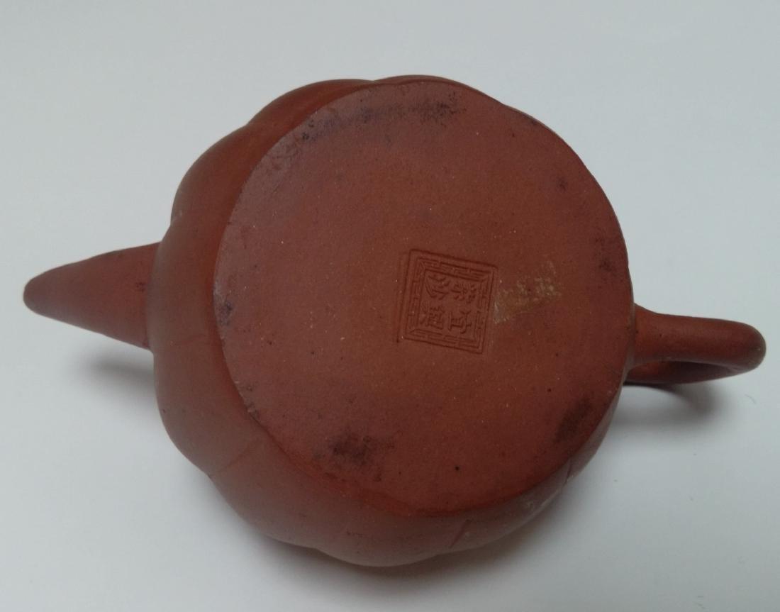 Qing Dynasty Yixing Zisha Teapot, Lion Final - 4