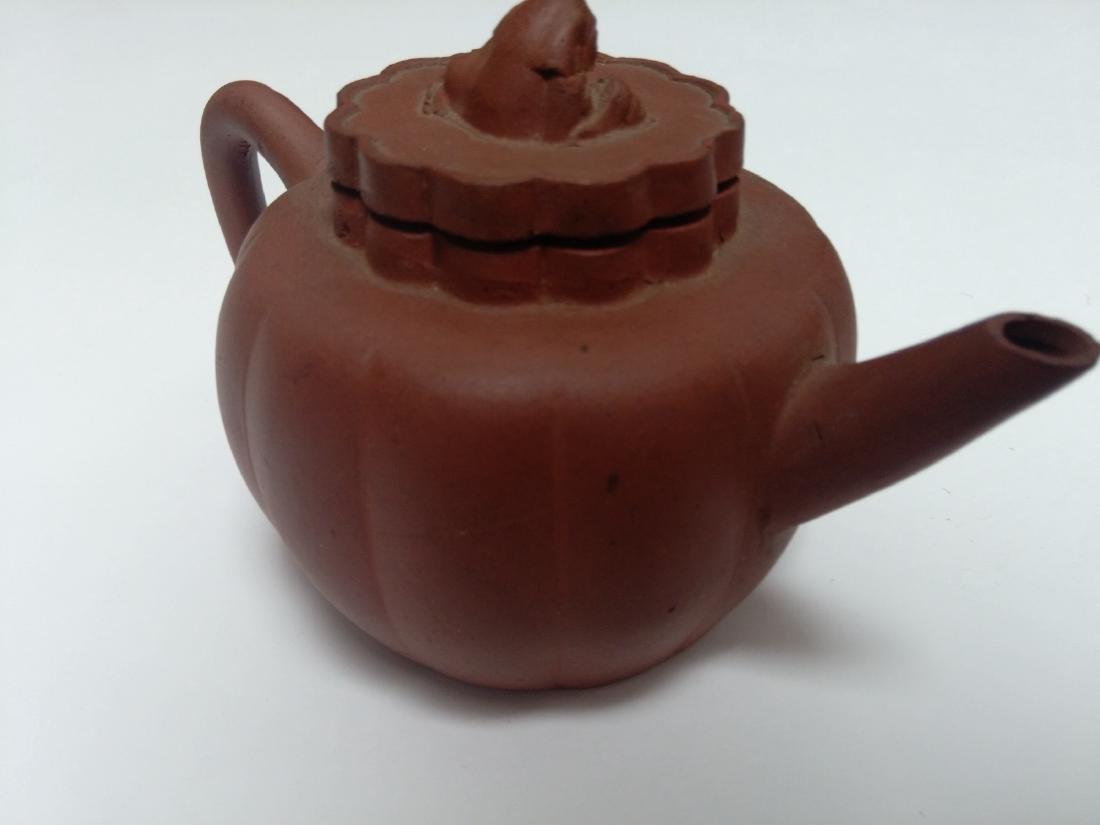 Qing Dynasty Yixing Zisha Teapot, Lion Final - 5