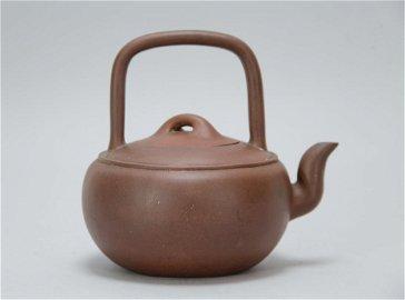 .Chinese Republican Yixing Zisha Teapot, Marked