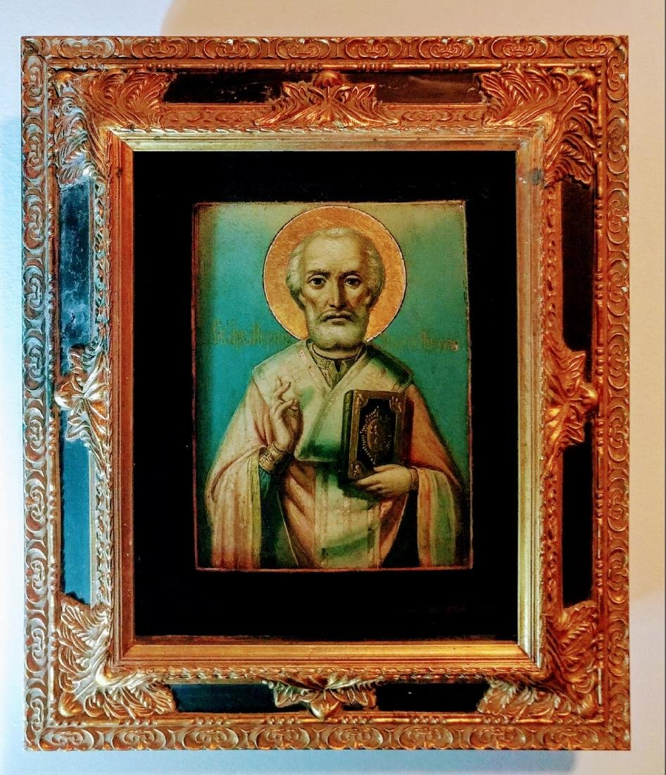 Russian icon of st.Nicholas the Wonderworker