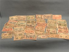 60 Pieces of Chinese Paper Money