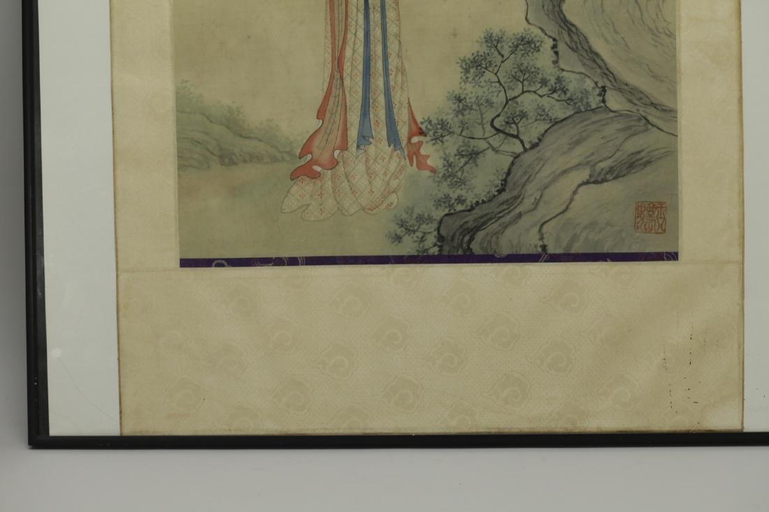 Chinese Painting on Silk - 5