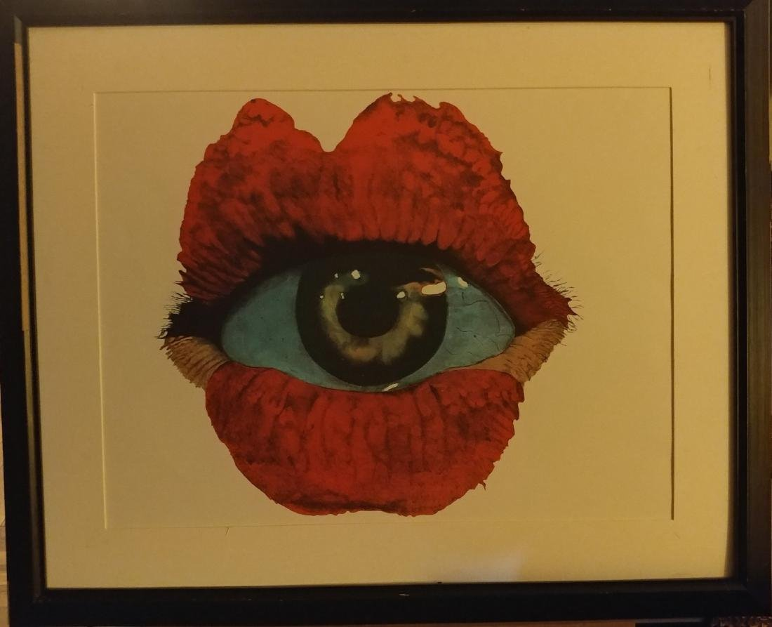 Michael Knigin Lithograph Signed and dated 1975.