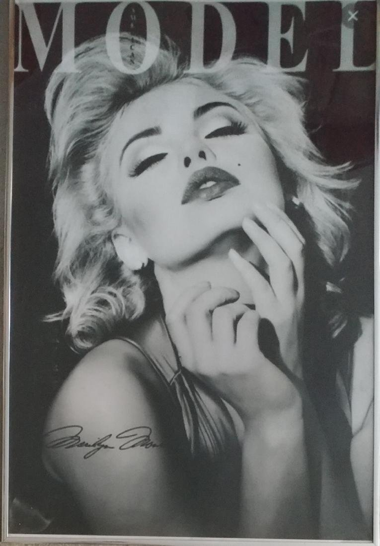 Large Marylin Monroe Poster.