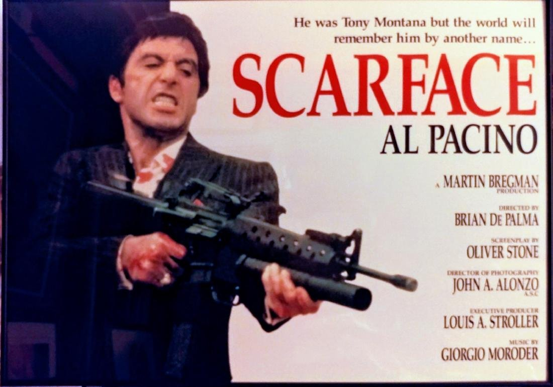 Al Pacino Scarface Poster.