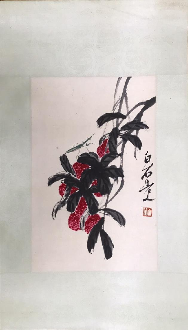 Chinese Ink/Color Painting on Paper, Signed