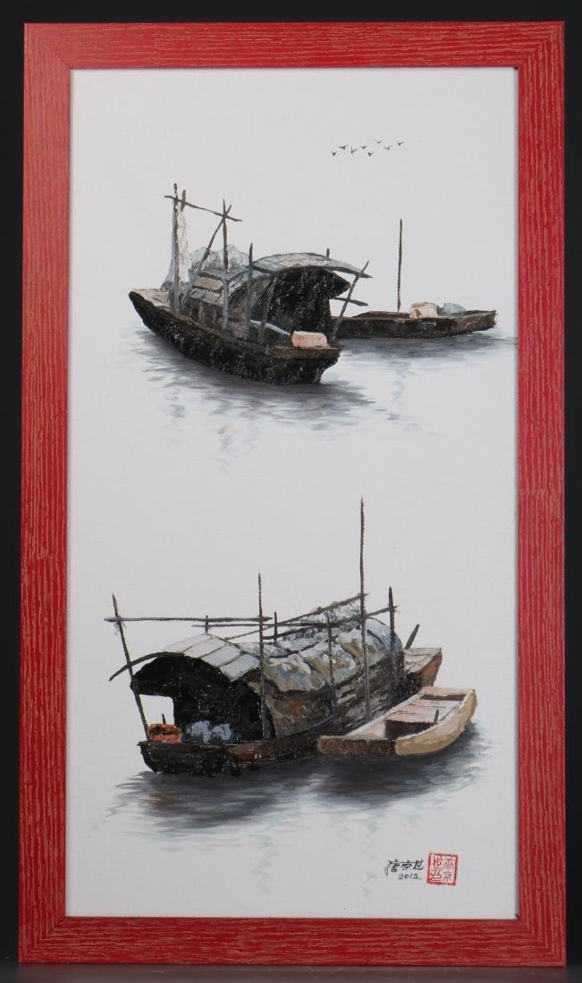 """Oil on Canvas by""""Tang Jing Shi"""""""
