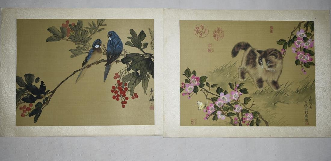 2 Pieces of Chinese Paintings