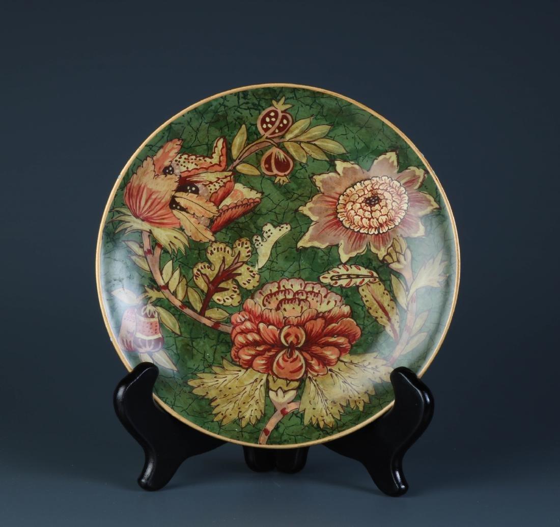 European Porcelain Plate