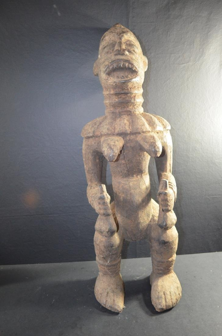 18th C. Old African Wood Carving