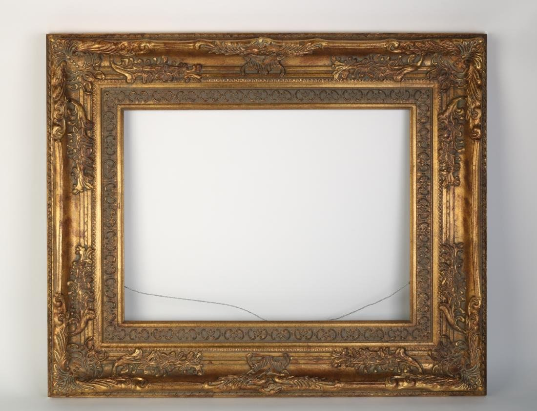 European Gilt Wood Oil Painting Frame