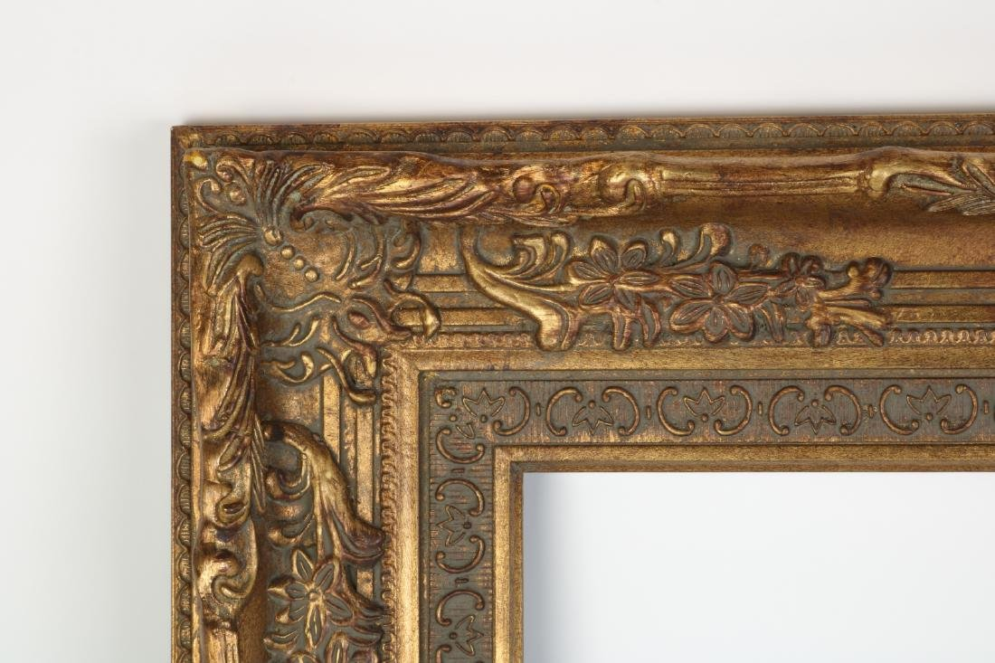 European Gilt Wood Oil Painting Frame - 2
