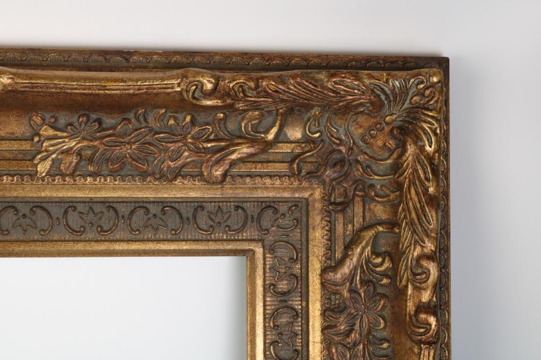 European Gilt Wood Oil Painting Frame - 3