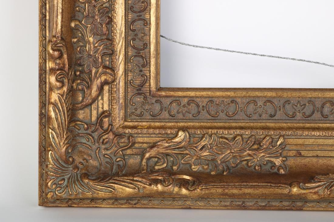 European Gilt Wood Oil Painting Frame - 5