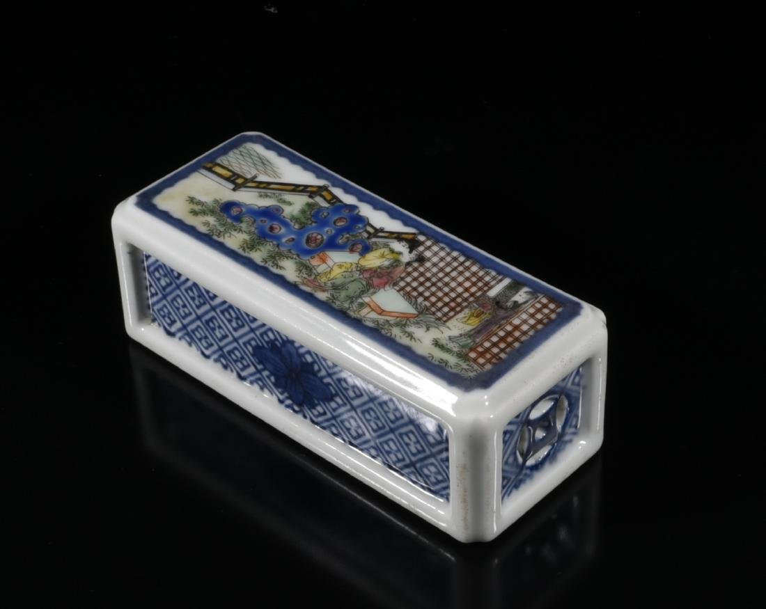 Chinese Blue/White Porcelain Paper Weight