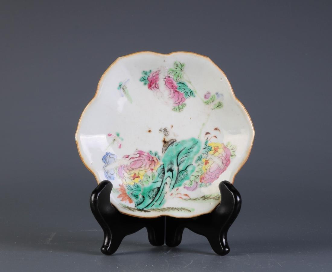 Chinese Porcelain TongZhi Period Mark Plate