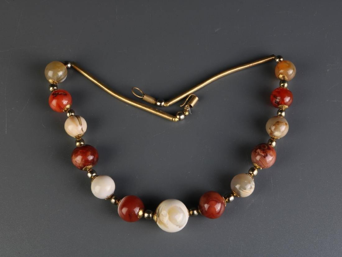 Chinese Himalaya Beads Necklace