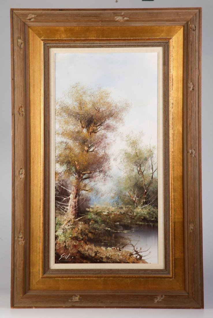 Oil on Canvas of Landscape