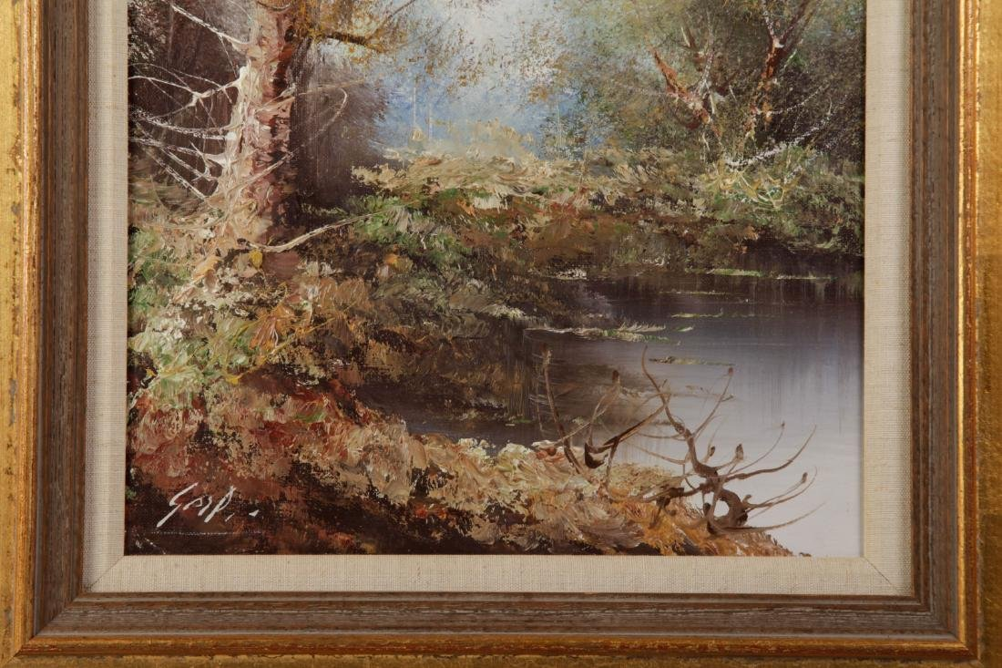 Oil on Canvas of Landscape - 5