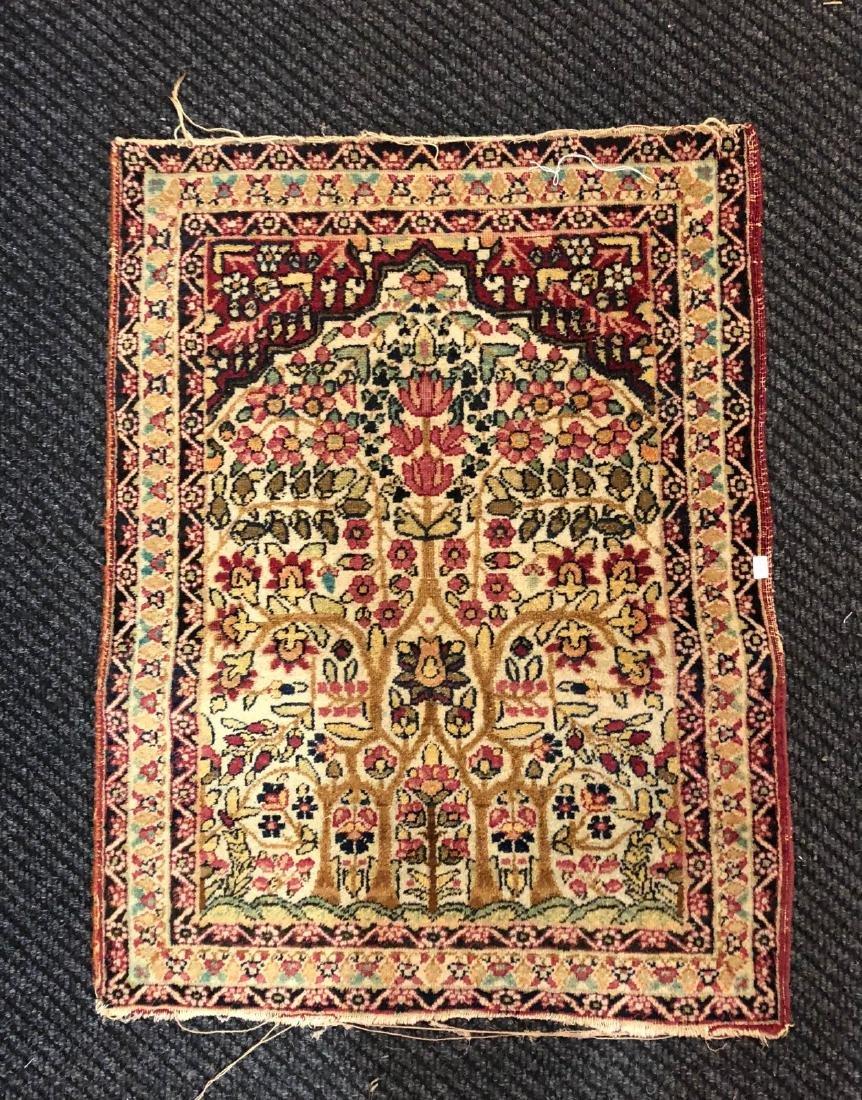 "Persian Rectangular Small Rug From ""Lavar"""