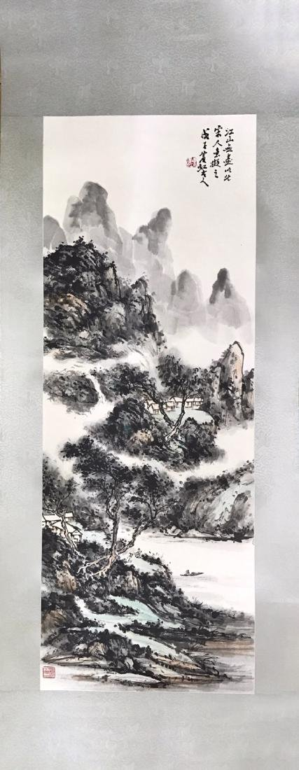 Chinese Ink/Color Painting, Signed