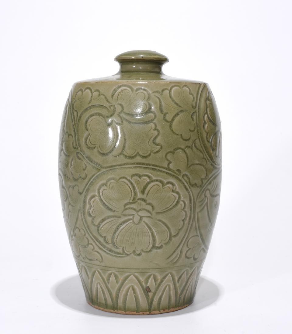 Chinese JiZhou TeaDust Ceramic Vase