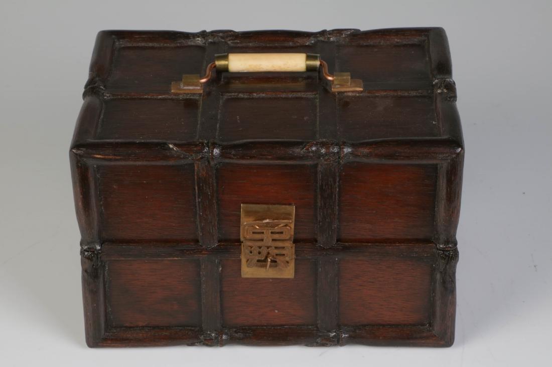 Chinese Small Wood Box
