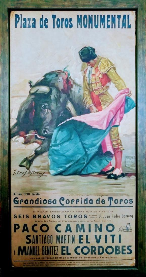 Grandiosa Corrida de Toros.