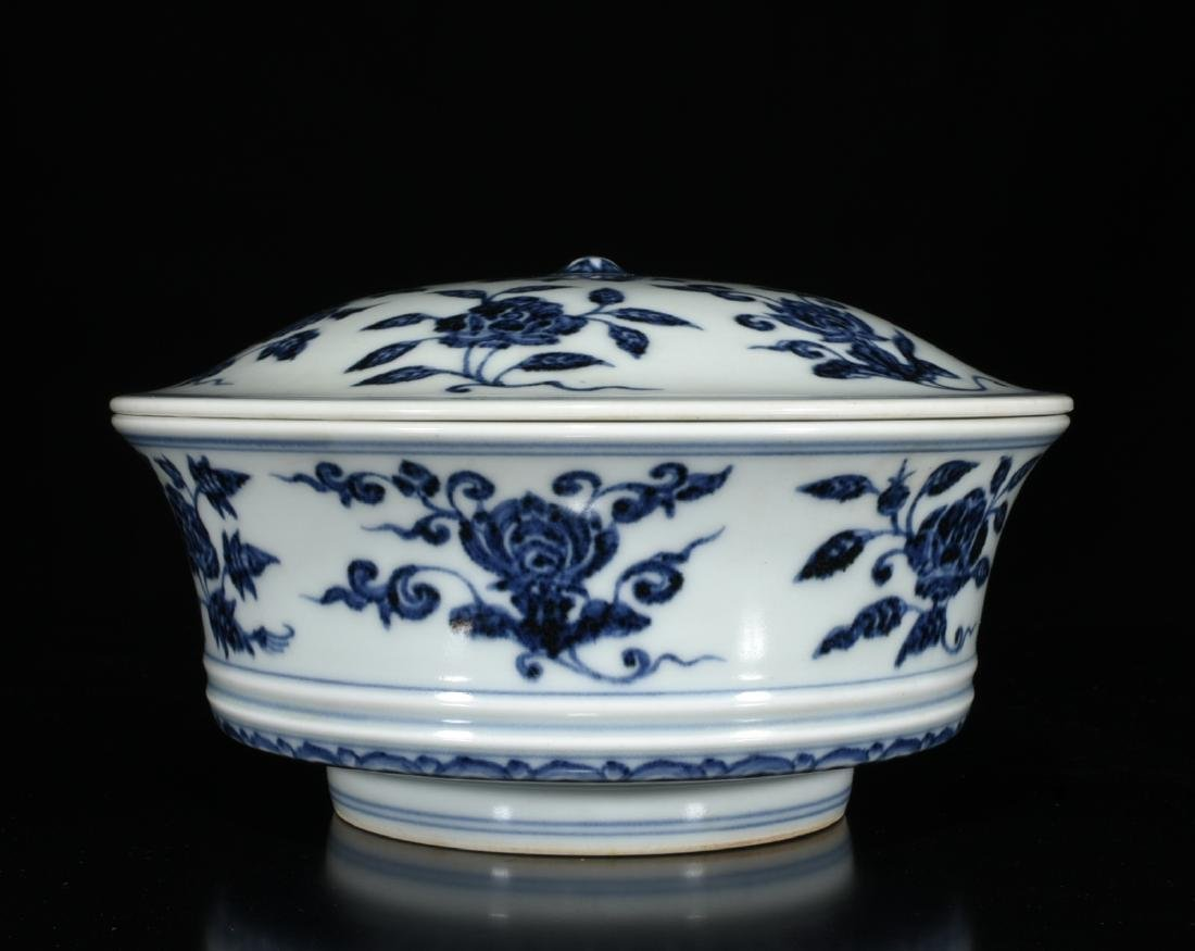 Chinese Blue And White Porcelain Tea Cup