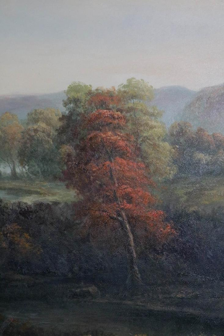 Large oil painting on canvas of landscape - 3