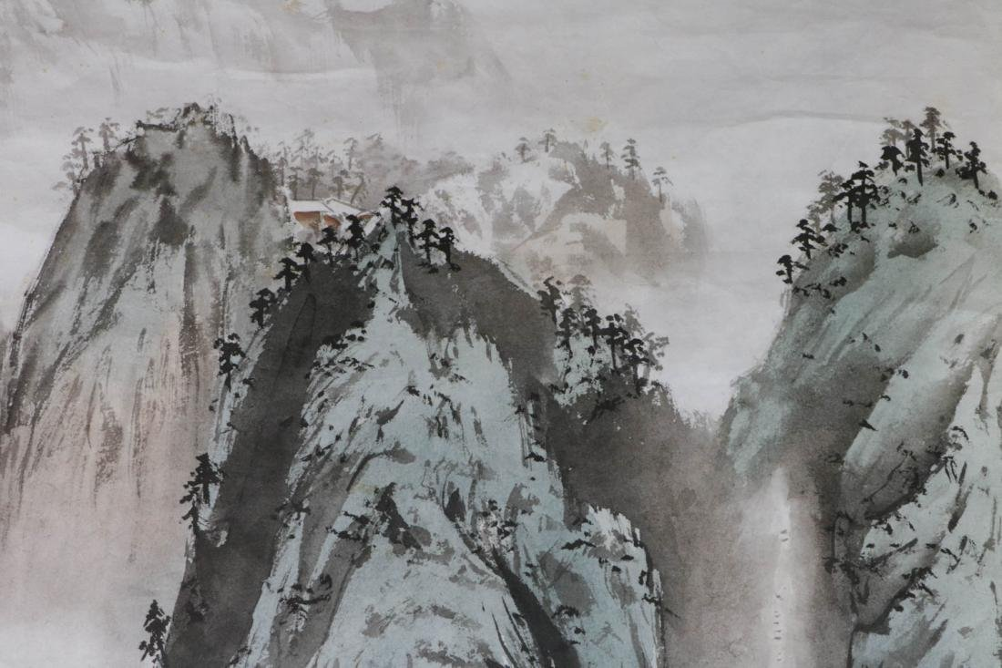 Chinese Water Color Painting of Landscape - 2