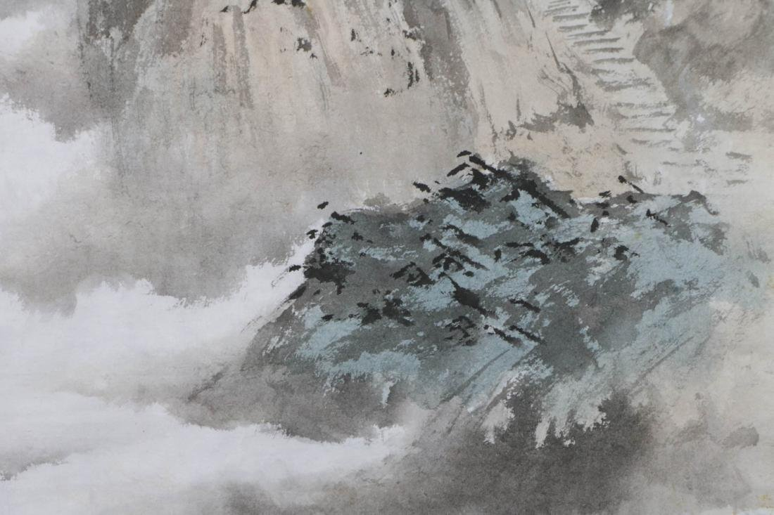 Chinese Water Color Painting of Landscape - 3