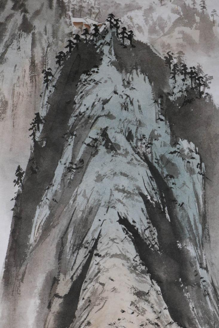 Chinese Water Color Painting of Landscape - 4
