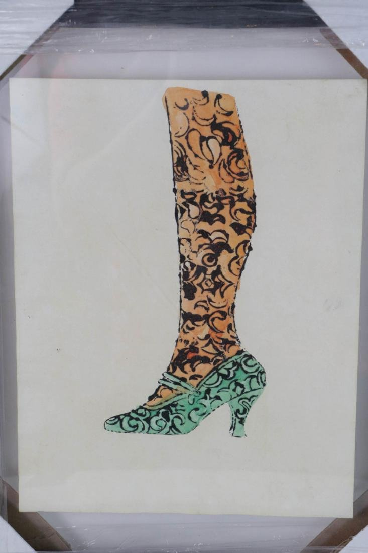 Andy Warhol. Image of Shoe with Seal - 2