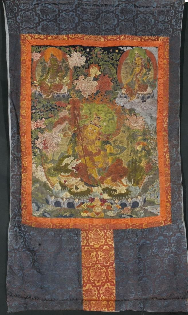 Tibetan Embroidery Tang Ka