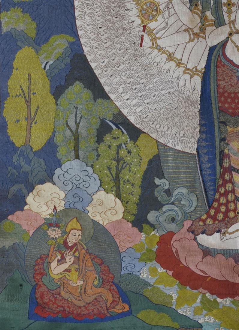 Tibetan Embroidery Tang Ka - 4