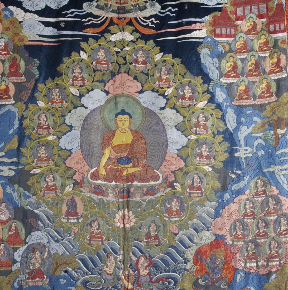 Tibetan Embroidery Tang Ka - 2
