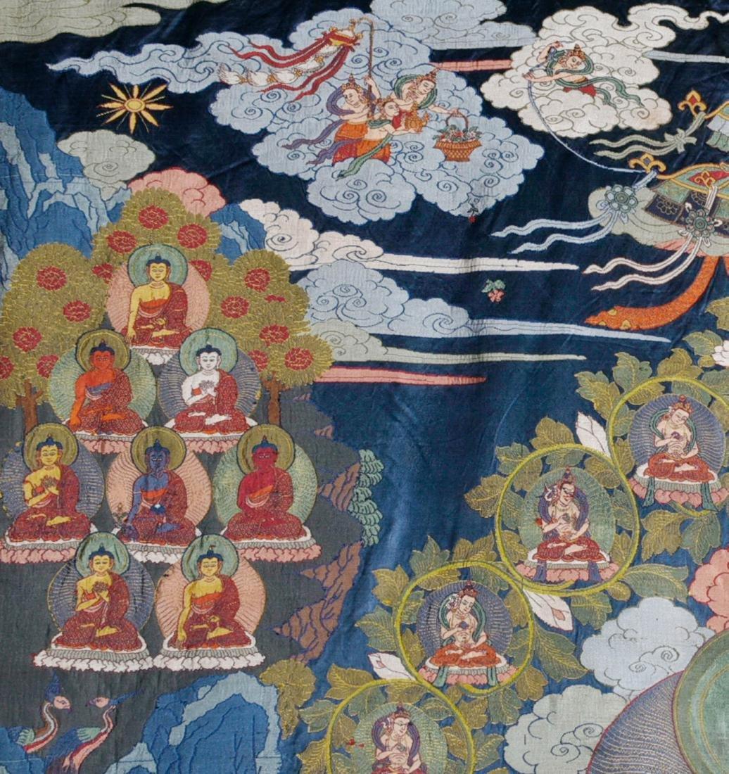 Tibetan Embroidery Tang Ka - 5