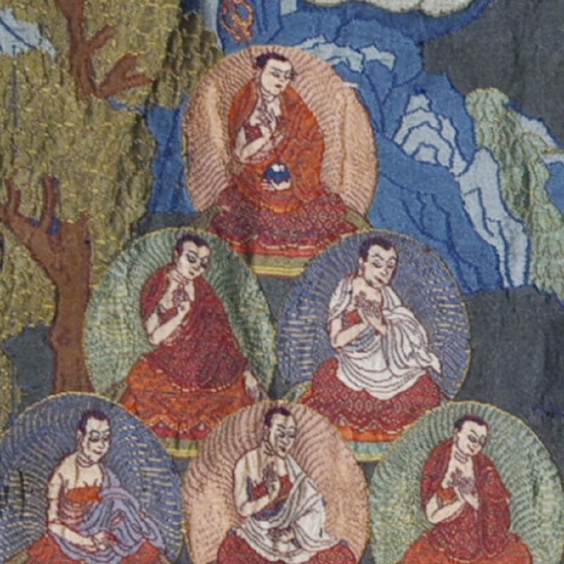 Tibetan Embroidery Tang Ka - 6