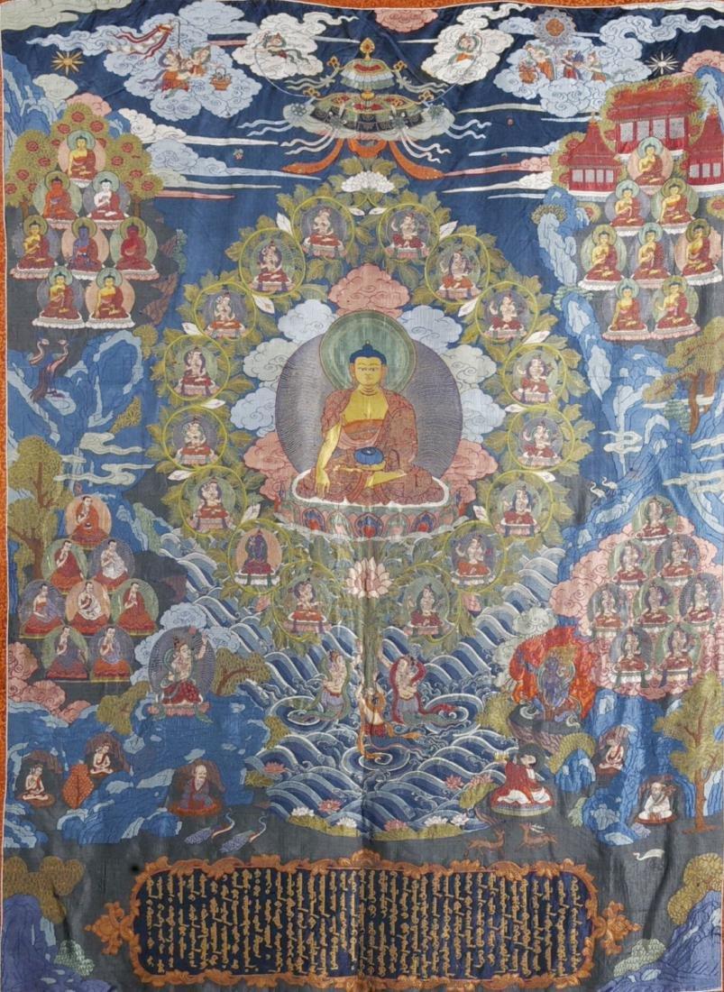 Tibetan Embroidery Tang Ka - 8