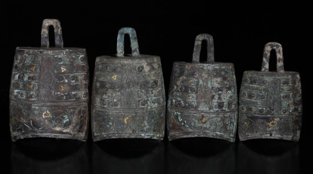 Chinese Archaic Bronze Clock - 4