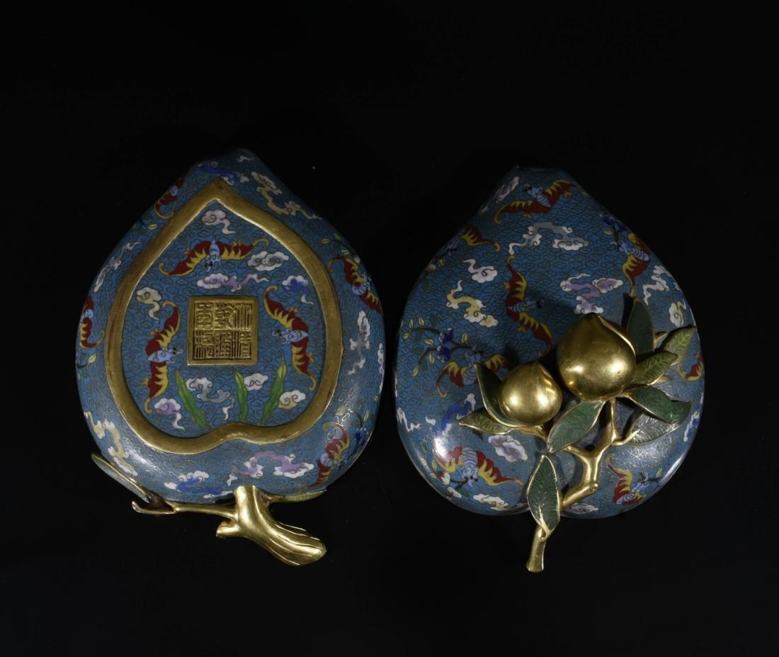 Chinese Gilt Bronze Enamel Box